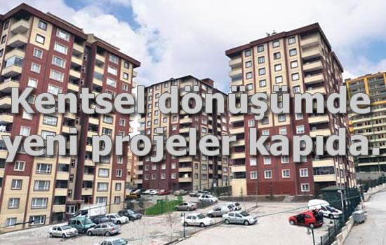 İstanbul kentsel dönüşüm projeleri geliyor.
