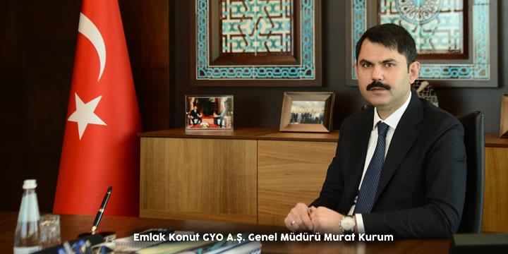 Murat Kurum - Emlak Konut GYO Genel Müdürü
