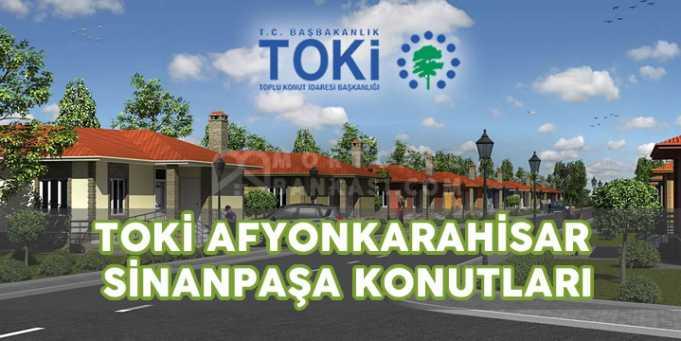 TOKİ Afyon karahisar Sinanpaşa Konutları Projesi