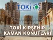 TOKİ Kırşehir Kaman Konutları Projesi