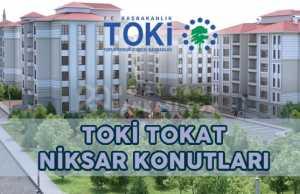 TOKİ Tokat Niksar Konutları Projesi