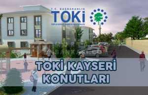 TOKİ Kayseri Saraycık Aksubağları Örenşehir Konutları
