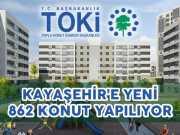 Toki İstanbuş Kayaşehir'de 862 Yeni Konut Projesi