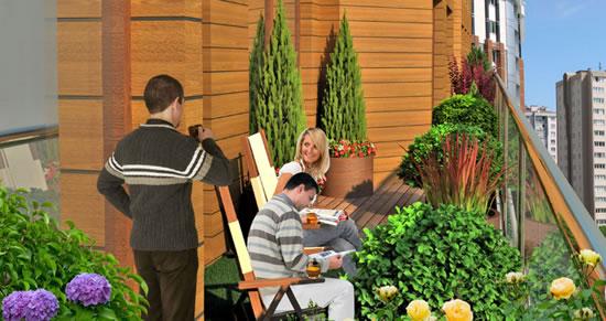 Önay Garden Residence projesinde her dairede kat bahçesi