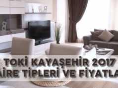 TOKİ Kayaşehir 2017 Daire Fiyatları Listesi