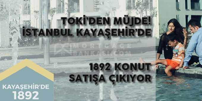TOKİ İstanbul Kayaşehir Konutları