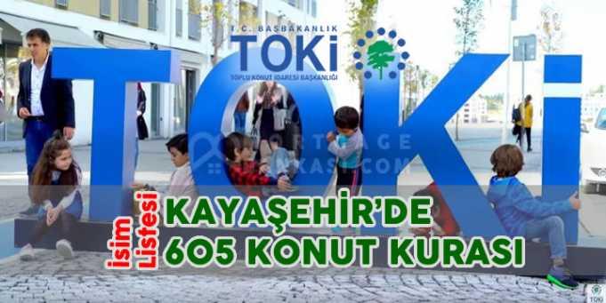 Toki Kayaşehir 2018 Kura Sonuçları