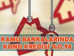 Kamu Bankalarından Konut Kredisi İndirimi