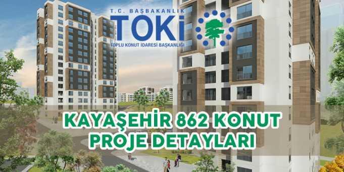 Toki Kayaşehir Projesi 2018 Özellikler