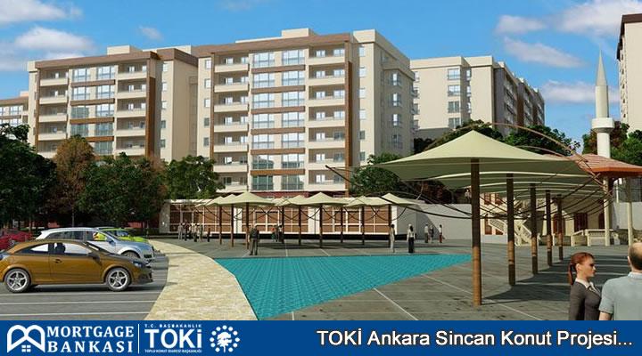 Toki Ankara Sincan Kentsel Dönüşüm Projesi Konutları