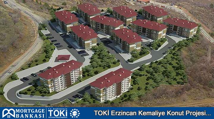 Toki Erzincan Kemaliye Projesinde Konut Daire Planları ve Özellikleri