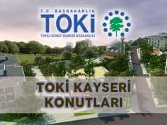 Toki Kayseri Saraycık Örenşehir Aksubağları Konutları Projesi