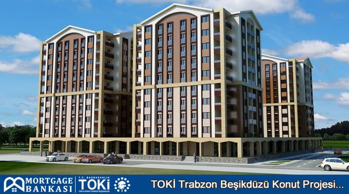 Toki Trabzon Beişikdüzü Konut Projesi Daire Örneği